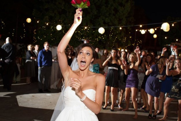 Franciscan Gardens Bouquet Toss