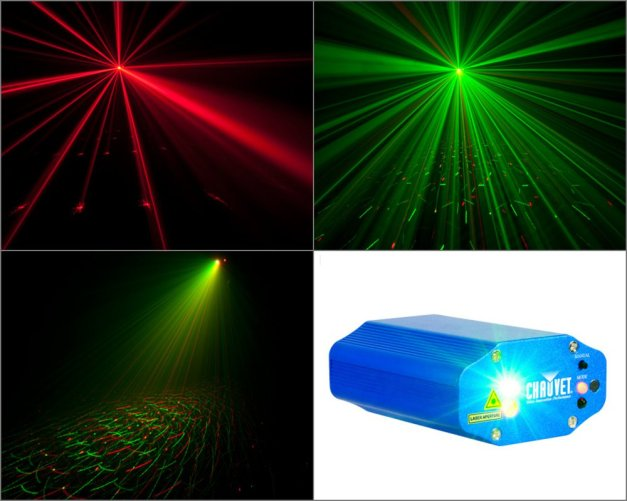 galaxian LASER light