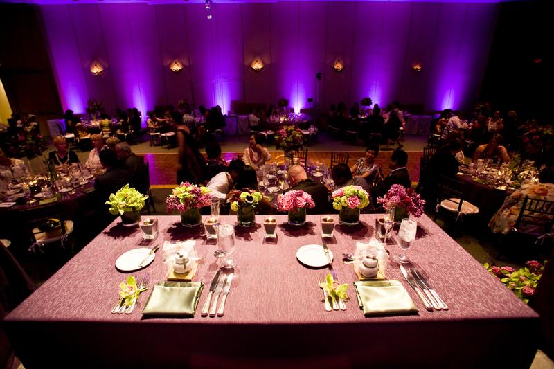 wedding Purple Up lights