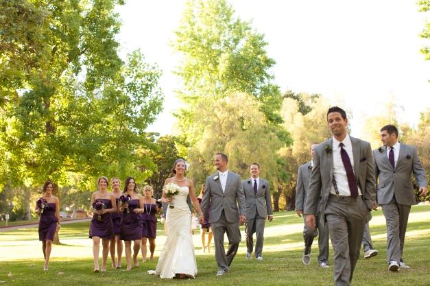 Bridal Party Wedding in Coto