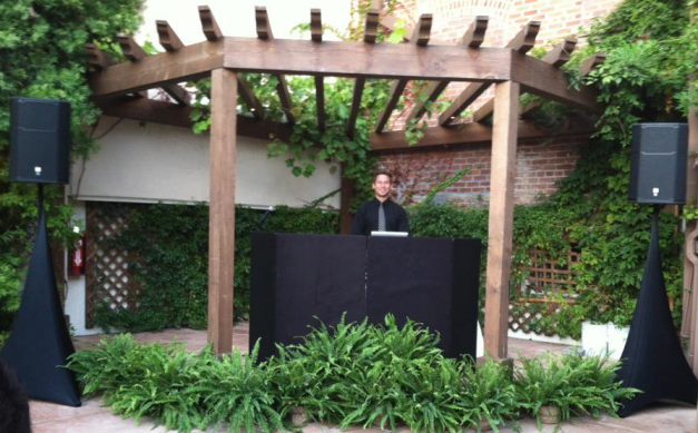 DJ Sota at Franciscan Gardens