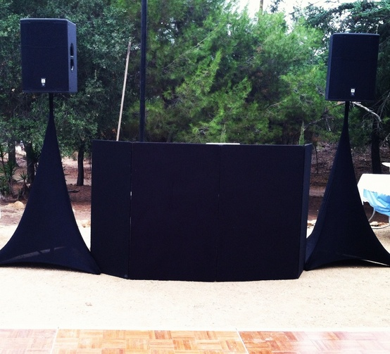 Wedding DJ Sota Set Up