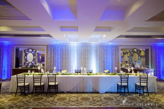 Surf and Sand wedding Head Table