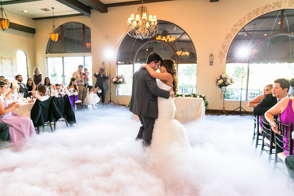 Dry Ice low Fog-talega-wedding